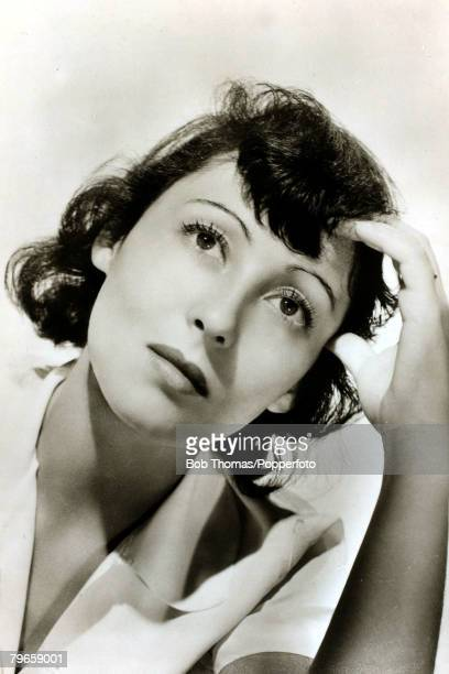 circa 1940 Luise Rainer actress a German Jew who became a US citizen born 1910 She won back to back Oscars for The Great Zigfield 1936 and The Good...