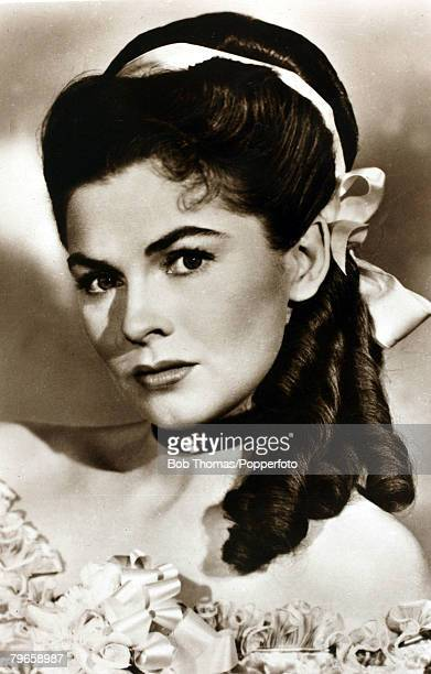circa 1940's American actress Joanne Dru who appeared mainly in western films in the 1940's and 1950's