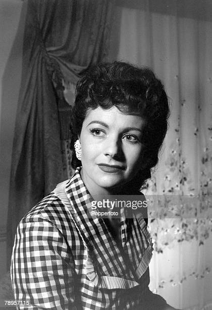 circa 1949 British actress Margaret Lockwood a leading lady one of the cinema's most popular villianesses of the 1940's