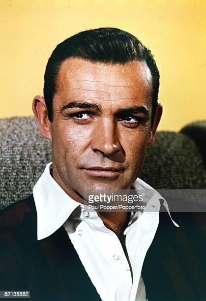 circa 1960's Scottish actor Sean Connery born 1930 who found fame as the British secret agent 007 James Bond
