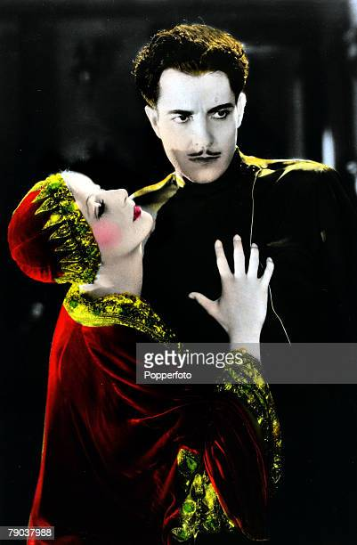 Cinema Personalities Swedish born film actress Greta Garbo born Stockholm 1905 pictured in the film Mata Hari with actor Ramon Novarro She went to...