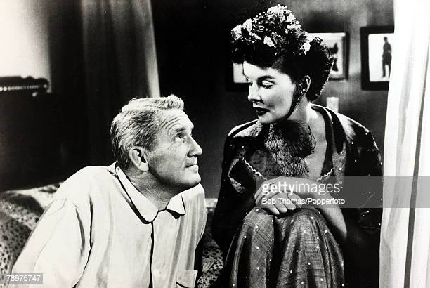 1949 American actors Katharine Hepburn and Spencer Tracy starring together in the film Adam's Rib Katharine Hepburn was one of the cinema's legends...