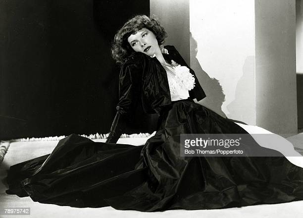 circa 1937 American actress Katharine Hepburn at the time she appeared in the film 'Stage Door' Katharine Hepburn was one of the cinema's legends and...