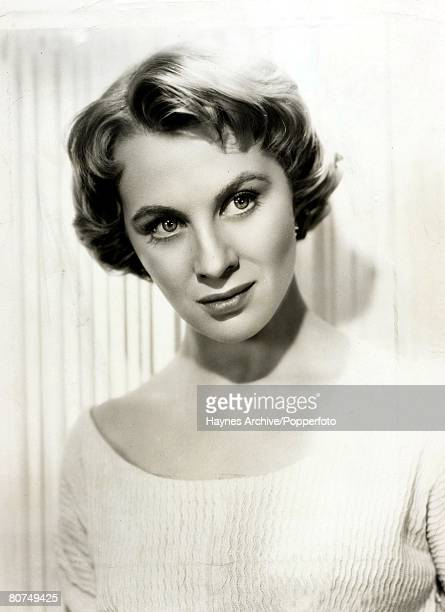 Cinema Swedish actress Mai Zetterling Portrait 1953
