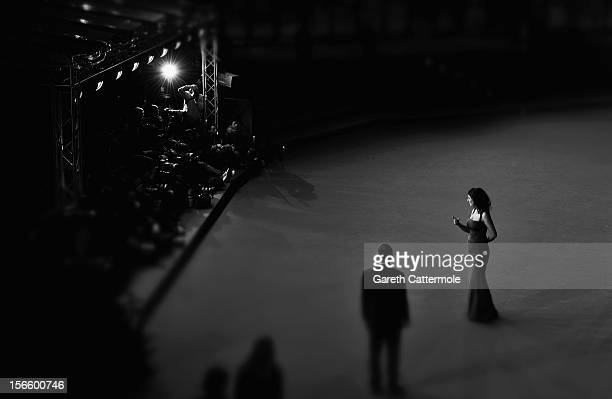 Cinema XX1 Jury member Emily Jacir attends the Closing Ceremony red carpet during the 7th Rome Film Festival at the Auditorium Parco Della Musica on...