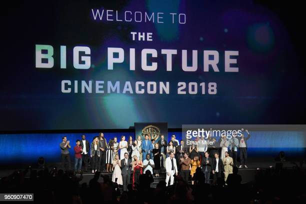 """CinemaCon 2018 Warner Bros Pictures Invites You to """"The Big Picture"""" an Exclusive Presentation of our Upcoming Slate at The Colosseum at Caesars..."""