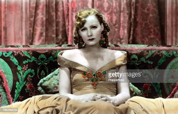 Cinema,Personalities, circa 1930+s, Swedish born film actress Greta Garbo, portrait, born Stockholm 1905, who went to America in the 1920+s and...