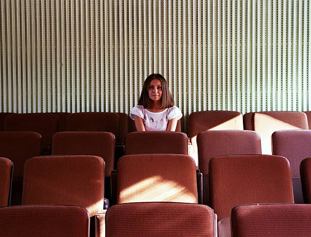 Cinematique young woman
