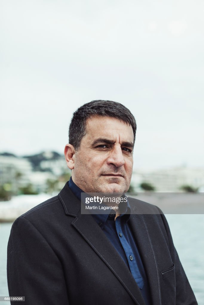 Cinematographer and director Dror Moreh is photographed on May 18, 2017 in Cannes at Majestic Beach, France.