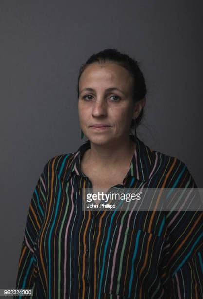 Cinematographer and screenwriter Renee Nader Messora is photographed on May 17 2018 in Cannes France