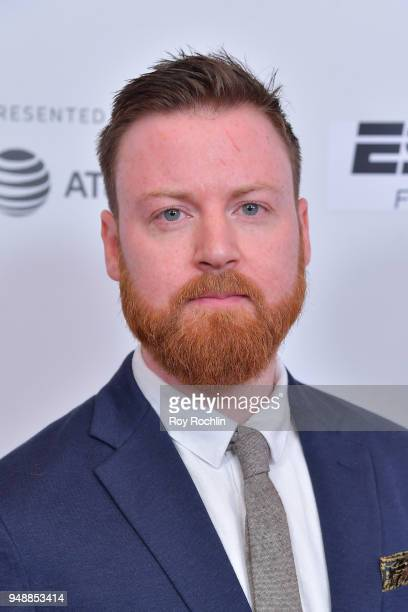 Cinematographer Arthur Mulhern attends a screening of 'No Greater Law' during the 2018 Tribeca Film Festival at Cinepolis Chelsea on April 19 2018 in...