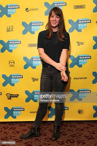 Cinematographer Ashley Connor attends the premiere of 'Funny Bunny' during the 2015 SXSW Music Film Interactive Festival at Alamo Ritz on March 15...