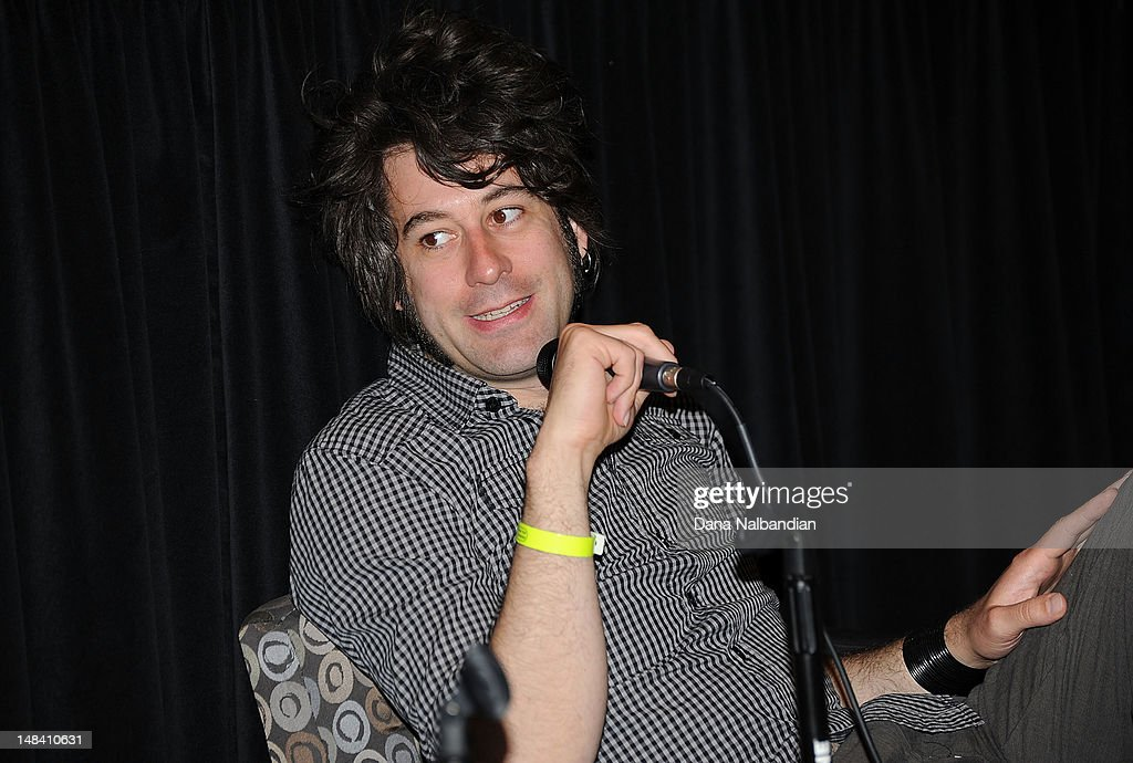 Cinematographer Ben Kasulke speaks at the Sundance Institute Shorts Lab at SIFF Cinema on July 15, 2012 in Seattle, Washington.
