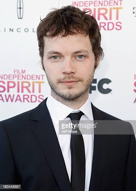 Cinematographer Ben Richardson attends the 2013 Film Independent Spirit Awards at Santa Monica Beach on February 23 2013 in Santa Monica California