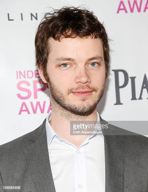Cinematographer Ben Richardson attends the 2013 Film Independent Filmmaker Grant And Spirit Award Nominees Brunch at BOA Steakhouse on January 12...