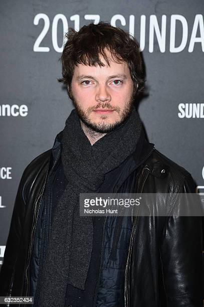 Cinematographer Ben Richardson attends the Wind River premiere on day 3 of the 2017 Sundance Film Festival at Eccles Center Theatre on January 21...