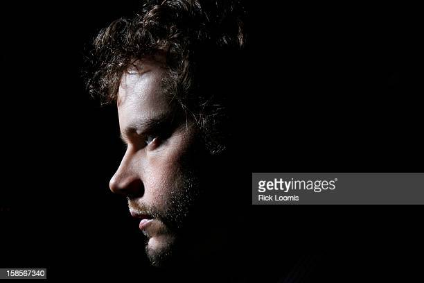 Cinematographer Ben Richardson is photographed for Los Angeles Times on October 23 2012 in Beverly Hills California