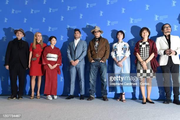 Cinematographer Benoit Delhomme Katherine Jenkins Akiko Iwase director Andrew Levitas Johnny Depp Minami writer Aileen Mioko Smith and Hiroyuki...