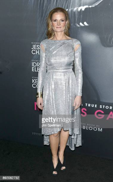 Cinematographer Charlotte Bruus Christensen attend the 'Molly's Game' New York premiere at AMC Loews Lincoln Square on December 13 2017 in New York...