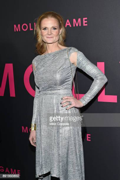 Cinematographer Charlotte Bruus Christensen attends 'Molly's Game' New York Premiere at AMC Loews Lincoln Square on December 13 2017 in New York City