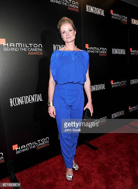 Cinematographer Charlotte Bruus Christensen attends the Hamilton Behind The Camera Awards presented by Los Angeles Confidential Magazine at Exchange...