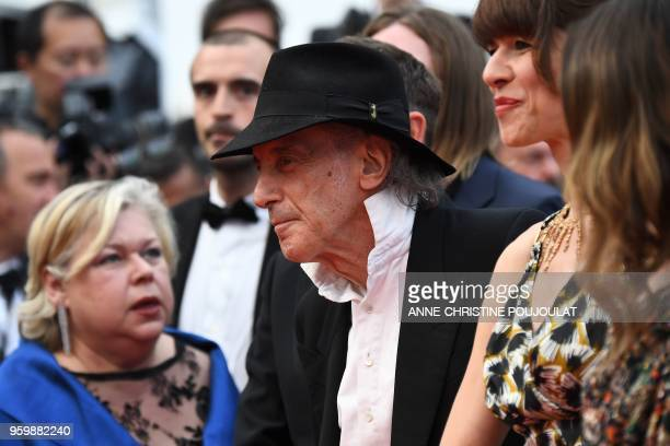 US cinematographer Ed Lachman arrives on May 18 2018 to receive the Pierre Angenieux Excellens in Cinematography award at the 71st edition of the...