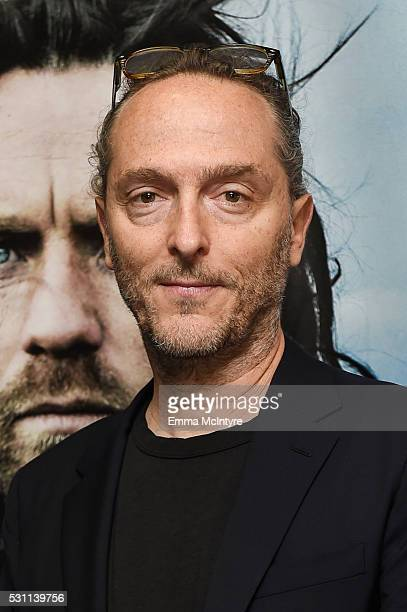 Cinematographer Emmanuel Lubezki arrives at a screening of Broad Green Pictures' 'Last Days In The Desert' at Laemmle Royal Theatre on May 12, 2016...
