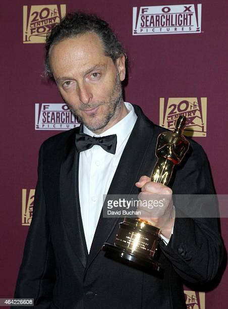 Cinematographer Emmanuel Lubezki attends the 21st Century Fox and Fox Searchlight Oscar Party at BOA Steakhouse on February 22 2015 in West Hollywood...