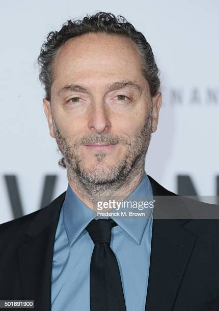 """Cinematographer Emmanuel Lubezki attends the premiere of 20th Century Fox and Regency Enterprises' """"The Revenant"""" at the TCL Chinese Theatre on..."""