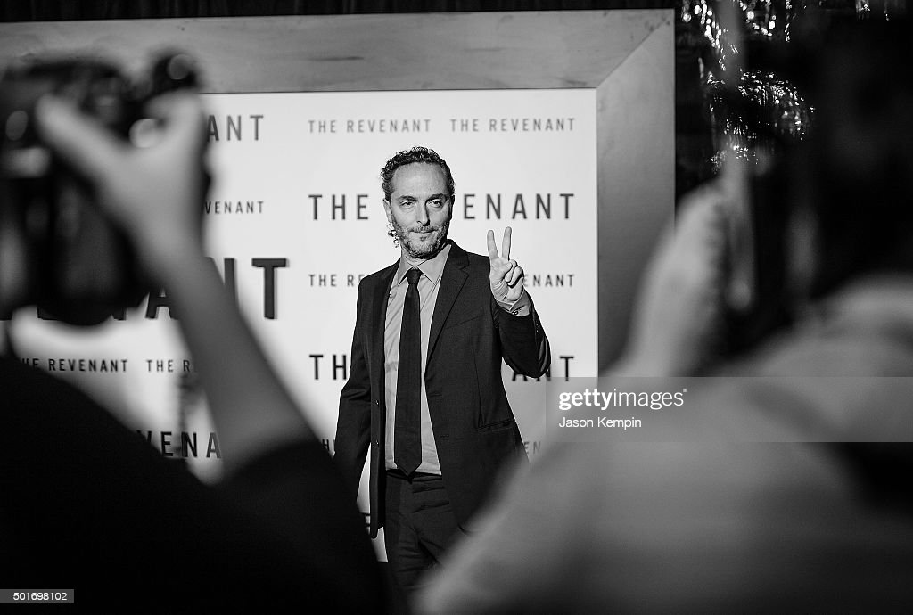 """An Alternative View Of The Premiere Of 20th Century Fox's """"The Revenant"""" : News Photo"""