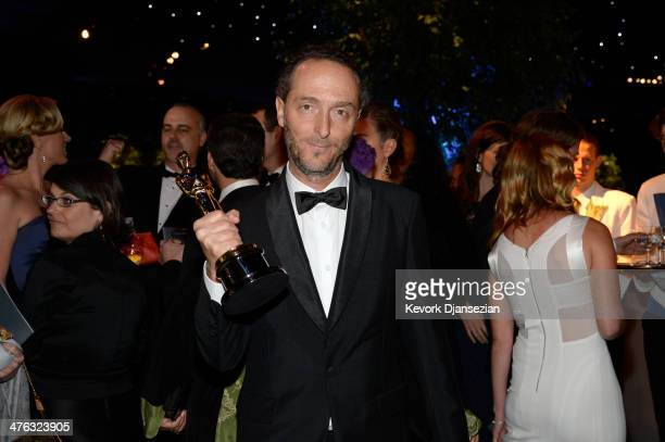 Cinematographer Emmanuel Lubezki, winner of Best Achievement in Cinematography attends the Oscars Governors Ball at Hollywood & Highland Center on...