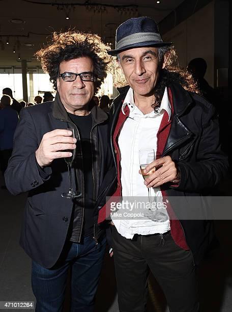 Cinematographer Ghasem Ebrahimian and production designer Shahram Karimi attend the Max Mara celebration of the opening of The Whitney Museum Of...