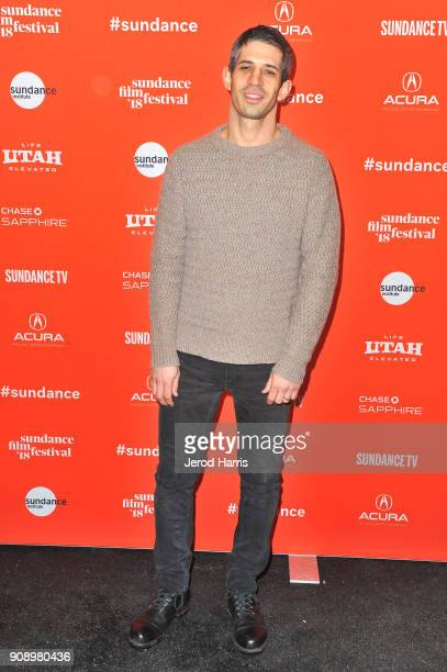 Cinematographer Gregory Kershaw attends the 'The Last Race' and 'Marfa' Premieres during the 2018 Sundance Film Festival at Park City Library on...