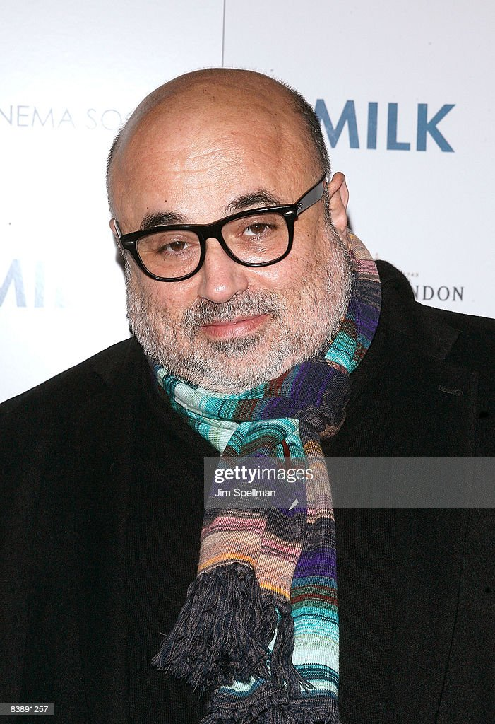 Cinematographer Harris Savides attends the Cinema Society and Details screening of 'Milk' at the Landmark Sunshine Theater on November 18, 2008 in New York City.