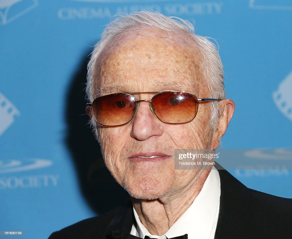 Cinematographer Haskell Wexler attends the 49th Annual Cinema Audio Society Awards 'CAS' at the Millennium Biltmore Hotel on February 16, 2013 in Los Angeles, California.
