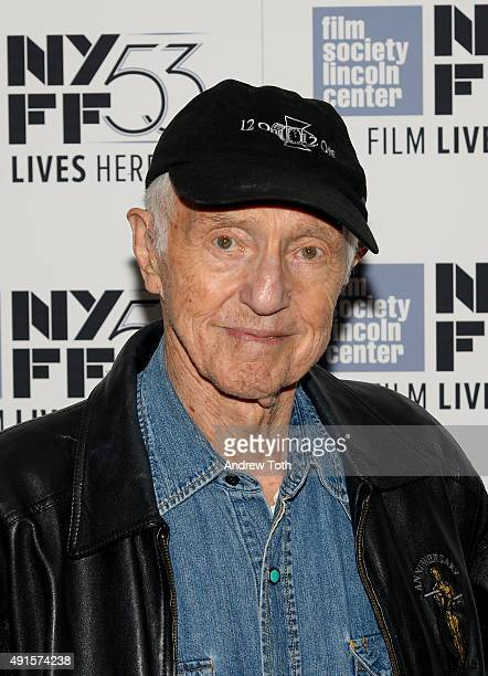 Cinematographer Haskell Wexler attends the Rebel Citizen screening during 53rd New York Film Festival at The Film Society of Lincoln Center Walter...