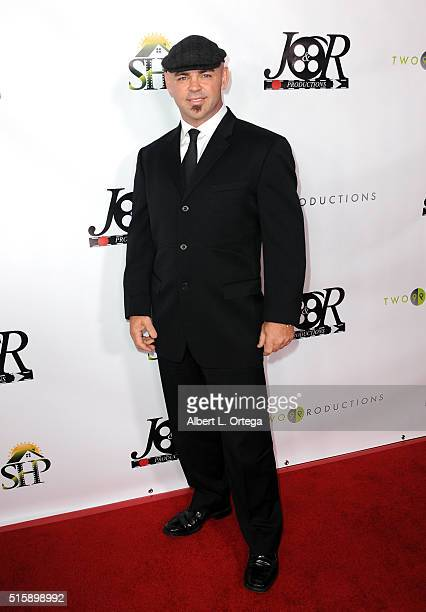 Cinematographer Jamie JT Trent arrives for the Premiere Of JR Productions' Halloweed held at TCL Chinese 6 Theatres on March 15 2016 in Hollywood...