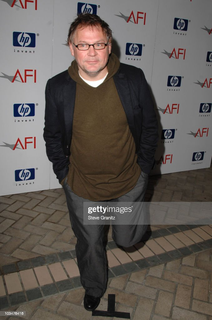 Cinematographer Janusz Kaminski arrives at the 2008 AFI Luncheon held at the Four Seasons Hotel on January 11, 2008 in Los Angeles, California.