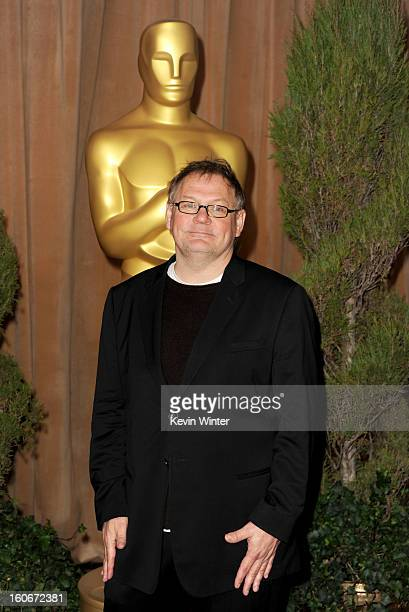 Cinematographer Janusz Kaminski attends the 85th Academy Awards Nominations Luncheon at The Beverly Hilton Hotel on February 4 2013 in Beverly Hills...