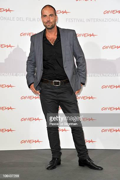 Cinematographer Jason Thomas poses at the Little Sparrows photocall during The 5th International Rome Film Festival at Auditorium Parco Della Musica...