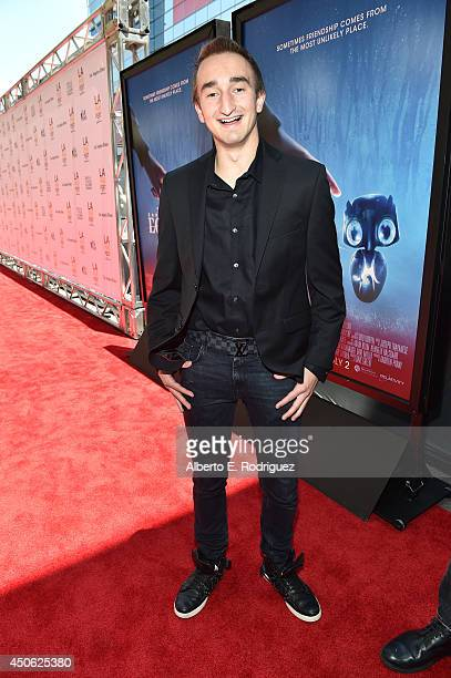 Cinematographer Jerome 'ASF' Aceti attends the premiere of 'Earth to Echo' during the 2014 Los Angeles Film Festival at Premiere House on June 14...