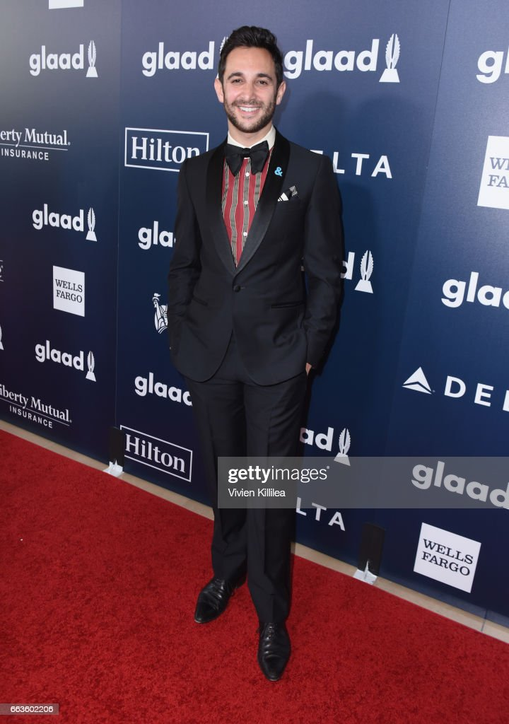 Cinematographer Joey Kuhn attends the 28th Annual GLAAD Media Awards in LA at The Beverly Hilton Hotel on April 1, 2017 in Beverly Hills, California.