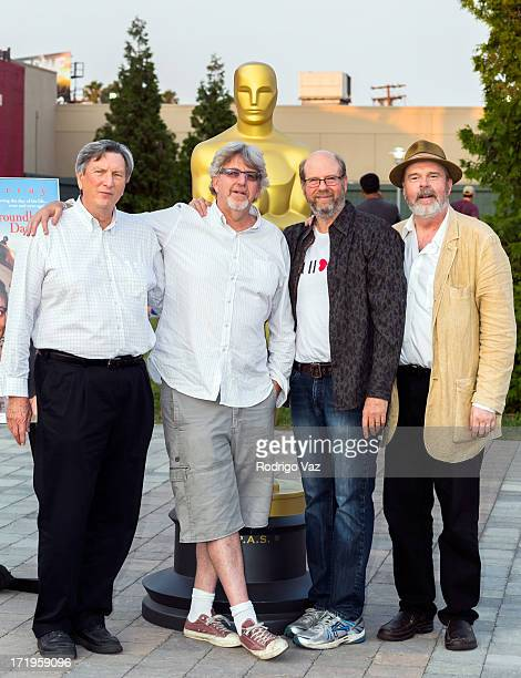 Cinematographer John Bailey producer Trevor Albert and actors Stephen Tobolowsly and Rick Overton attend The Academy of Motion Picture Arts and...