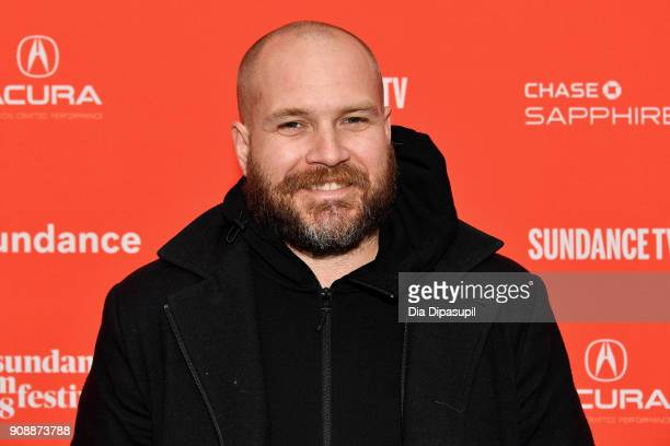 Cinematographer Jonathon Narducci attends the 'Hal' Premiere during the 2018 Sundance Film Festival at The Marc Theatre on January 22 2018 in Park...