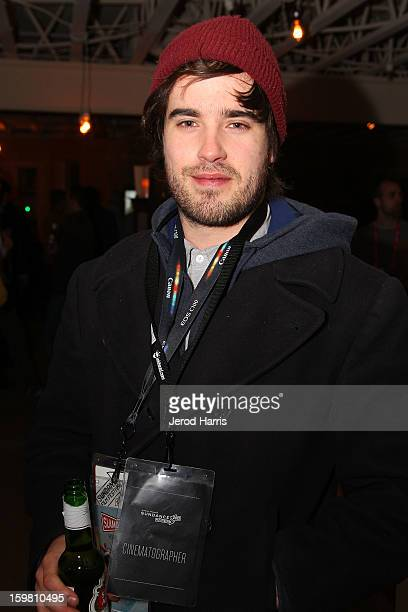 Cinematographer Josh Richards attends Canon Celebrates Cinematography party on January 20 2013 in Park City Utah