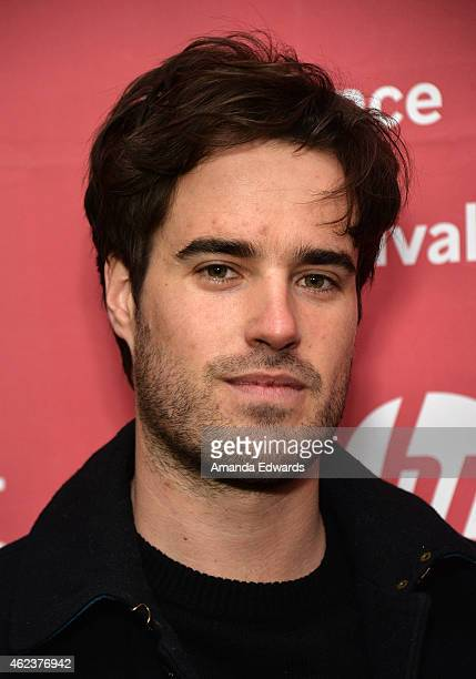 Cinematographer Joshua James Richards attends the Songs My Brothers Taught Me premiere during the 2015 Sundance Film Festival on January 27 2015 in...