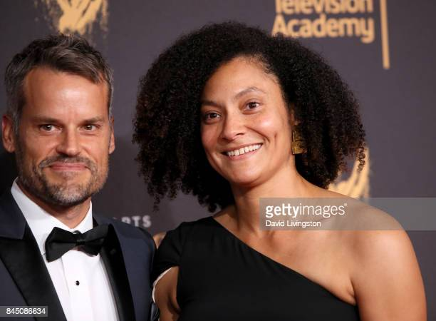 Cinematographer Kira Kelly attends the 2017 Creative Arts Emmy Awards at Microsoft Theater on September 9 2017 in Los Angeles California