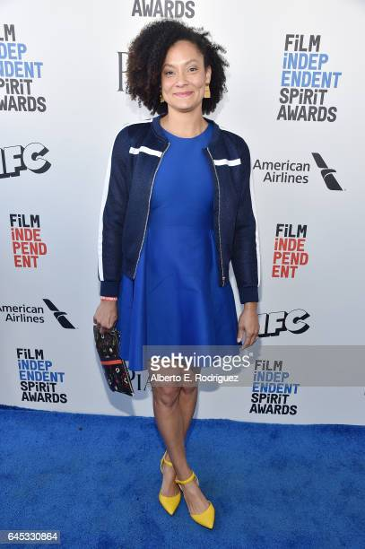 Cinematographer Kira Kelly attends the 2017 Film Independent Spirit Awards at the Santa Monica Pier on February 25 2017 in Santa Monica California