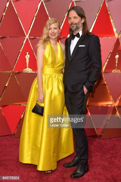 Cinematographer Linus Sandgren and guest attend the 89th Annual Academy Awards at Hollywood Highland Center on February 26 2017 in Hollywood...