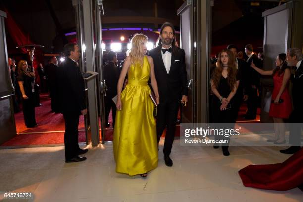 Cinematographer Linus Sandgren winner of the award for Cinematography for 'La La Land' attends the 89th Annual Academy Awards Governors Ball at...